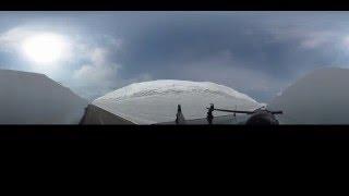 アキタノバーチャルトリップVol,3アスピーテライン・雪の回廊(360°カメラ)