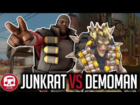 Junkrat Vs Demoman Rap Battle by Jt Music