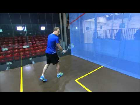 Nick Matthew Squash Coaching Tips Part 6 – The Backhand Drive