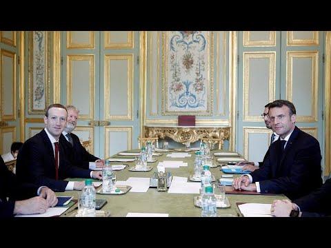 Hass im Netz: Facebook-Chef zu Gast in Paris