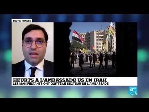 Heurts à l'ambassade américaine en Irak : les manifestants ont quitté le secteur