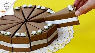 DIY Cake Gift Boxes | Birthday Gift Ideas