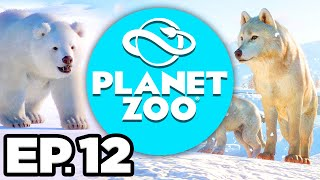 Planet Zoo: Arctic Pack Ep.12 - • BOA CONSTRICTOR, NEW EXHIBITS & SHOPS!!! (Gameplay / Let's Play)