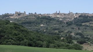 San Quirico d'Orcia Italy  City new picture : The Hills of Tuscany around Siena, Italy: Montalcino and San Quirico D'Orcia