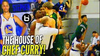 Jalen Lecque WINDMILL vs Steph Curry's Alma Mater; Game Gets HEATED!
