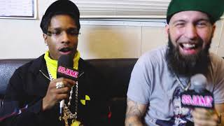 ASAP Rocky Talks New Album, Fashion & #IcedOut Jewelry