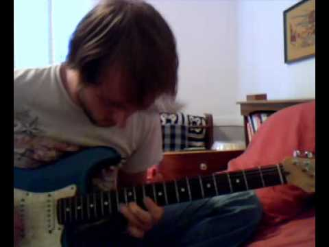 Just messin around on the guitar