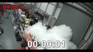 Fog Bandit 240DB Warehouse Protection – live cctv