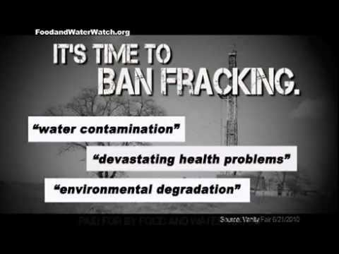 Ban Natural Gas Fracking