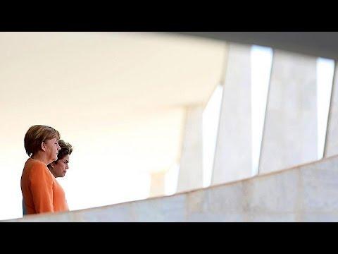 Η Α. Μέρκελ στη Βραζιλία με την οικονομία στο επίκεντρο