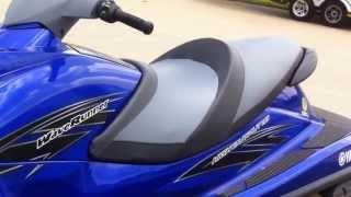 7. 2013 Yamaha VXR Waverunner Deep Blue