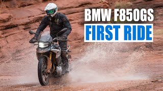 9. First Ride: All-New BMW F850GS
