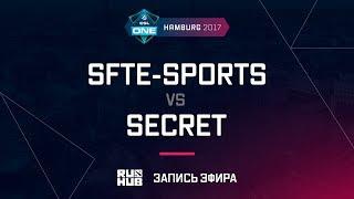 SFTe-sports vs Secret, ESL One Hamburg 2017, game 1 [Maelstorm, LightOfHeaven]