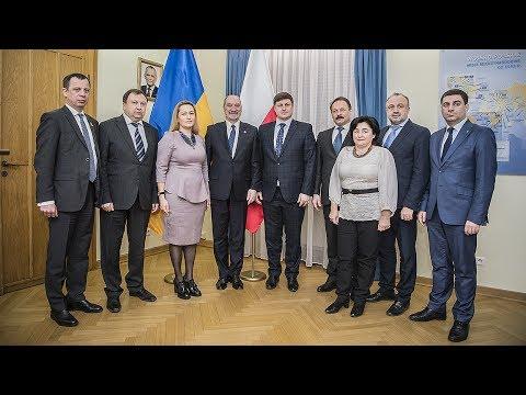 Parlamentarzyści z Ukrainy w MON