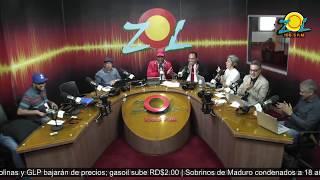 Martin Haina con el coro se gozo la fiesta de Radio Cadena Comercial