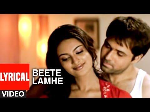 """Beete Lamhe"" Lyrical Video Song  | The Train | K.K. | Mithoon | Emraan Hashmi, Geeta Basra"