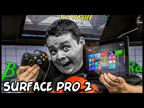Microsoft Surface Pro 2 Unboxing & Review – Photoshop, Gaming, etc