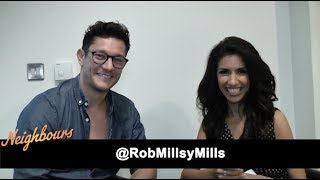 REUPLOADED as the background music was too dominant on some devices.The Fan Carpet's Ellie Torrez spoke to multi talented Actor Rob Mills who plays Finn Kelly on beloved long running Australian soap Neighbours.Neighbours airs Monday to Friday at 1.45pm and 5.30pm on Channel 5 and catch up with the series online on My5.Special thanks to Luigi Frassetto for 16 Febbraio, check out his music on Soundcloud https://soundcloud.com/luigifrassetto