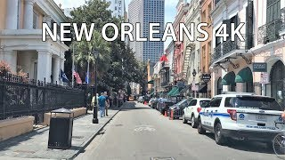 New Orleans (LA) United States  City pictures : Driving Downtown - New Orleans Louisiana USA