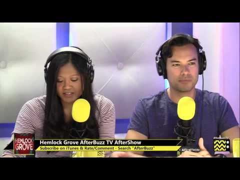"""Hemlock Grove After Show Season 1 Episode 9 """" What Peter Can Live Without """"    AfterBuzz TV"""