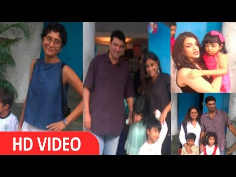 Aishwarya Rai & Kiran Rao At Birthday Bash Of Vidya Balan Sisters Son