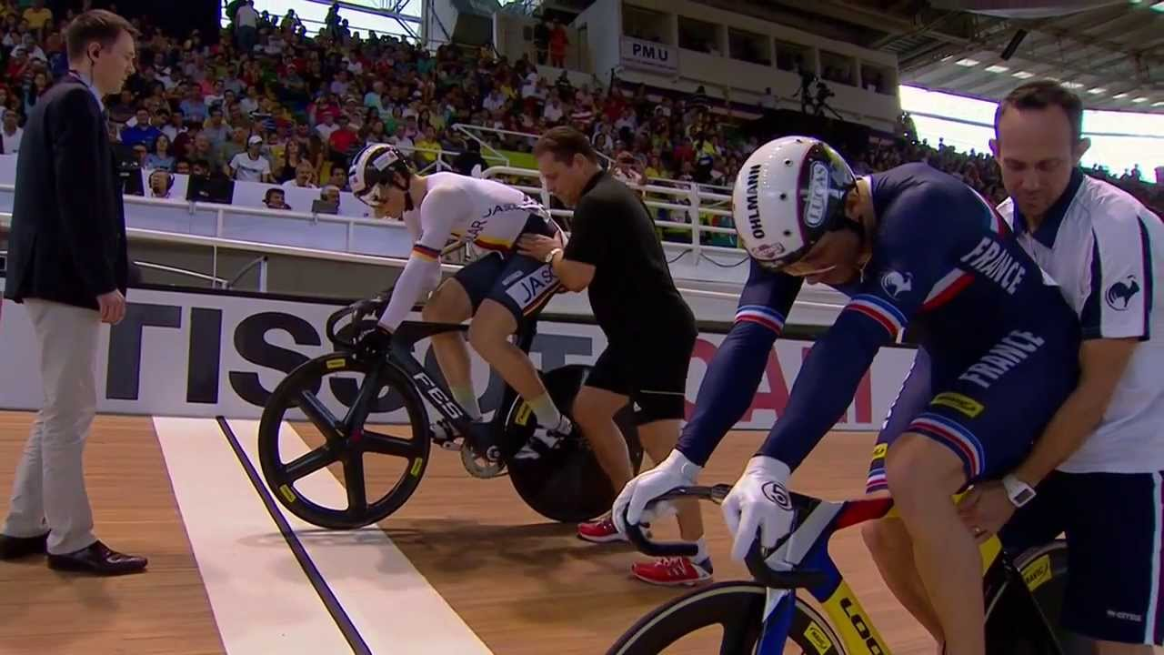 Mens Sprint Final  –  2014 UCI Track Worlds