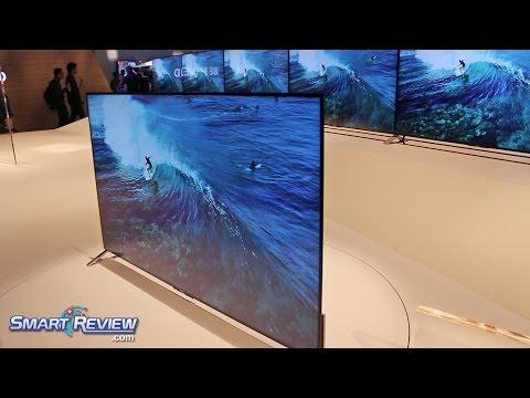 CES 2015 |  Sony Bravia 4K TVs | XBR-55X900C, XBR-65X900C,  XBR-75X910C | World'sThinnest LED TV