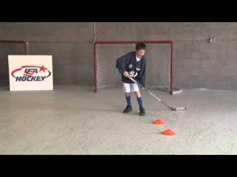 10U Off Ice Puck Handling Toe Drag – Hockey Drills