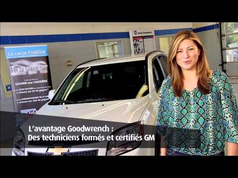 Repentigny Chevrolet et son service GOODWRENCH