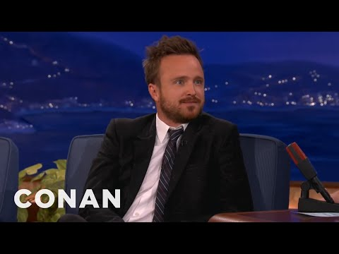 Bitch - CONAN Highlight: Aaron will drop the B-Bomb at any time on you, your friends, your loved ones, and even unsuspecting tour buses. More CONAN @ http://teamcoco...