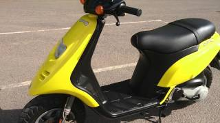 4. 2000 PIAGGIO TYPHOON XR 50 AC 2T SCOOTER MOPED 1 OWNER VGC SUPERB NEW MOT + TAX