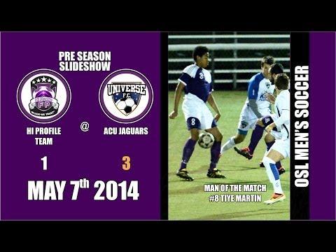 Preseason Soccer Game Photo Slideshow - Universe FC