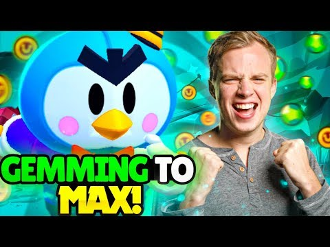 GEMMING our MR. P to MAX! New Update Gameplay | Brawl Stars