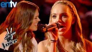 The Voice Season 4 Battle Rounds Feat Caroline Glaser And Danielle Bradbury - ENTV