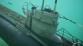 Underwater Video Selfmade RC Submarine Hunting -U Boot U558 Unterwasser Abgetaucht