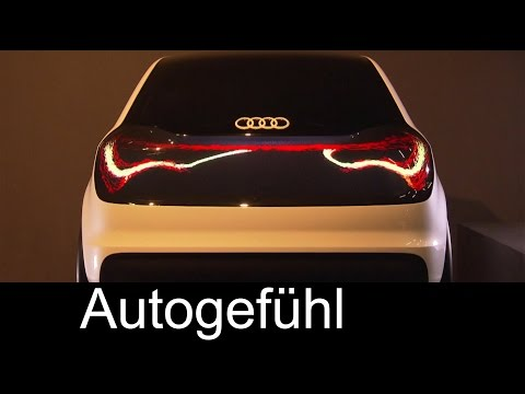 """The swarm"" - Audi's new matrix OLED lighting concept"