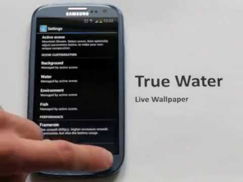 Video of True Water Live Wallpaper