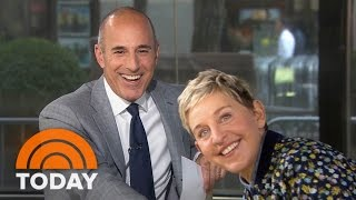 Video Ellen DeGeneres On Prank War With Matt Lauer, New Season | TODAY MP3, 3GP, MP4, WEBM, AVI, FLV September 2018
