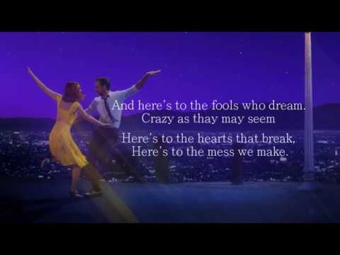 Emma Stone - Audition (The Fools Who Dream) LYRICS ON SCREEN
