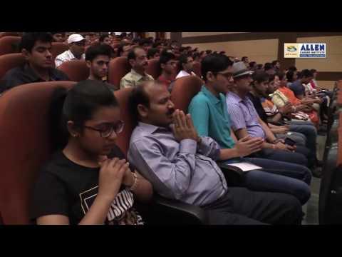 ALLEN Jaipur Nurture Orientation Session by Ashish Arora Sir