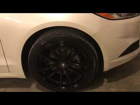 """2014 Ford Fusion 19"""" Konig Rims"""