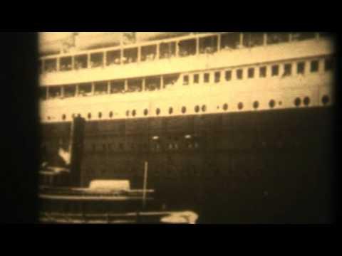TITANIC & OLYMPIC 1912 ORIGINAL FILM видео