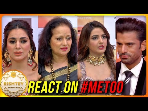 TV Celebs REACT On MeToo Movement | Sriti Jha, Him