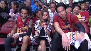 Best Players: Chris Ross and June Mar Fajardo | PBA Commissioner's Cup 2018