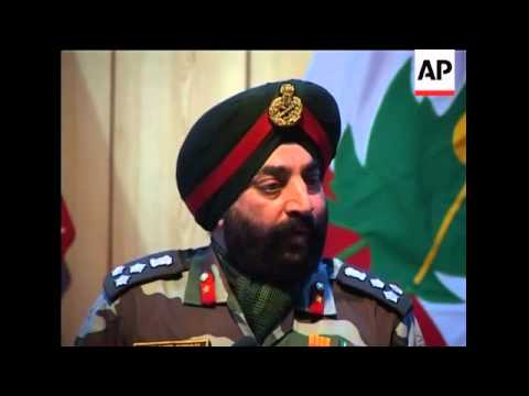 Video Indian general says militants killed in recent gunbattle download in MP3, 3GP, MP4, WEBM, AVI, FLV January 2017