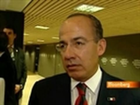 Calderon Says Stronger Peso Has Not Hurt Mexican Economy