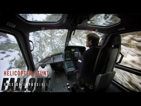 Mission: Impossible – Fallout (2018) – Helicopter Stunt Behind The Scenes