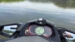 4. Cruising on the Sea Doo GTI LTD