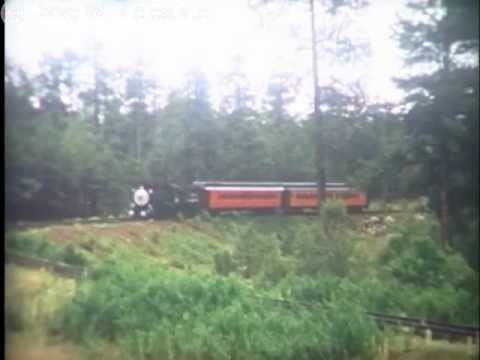 White Mountain Scenic Railroad - 1966 (c).mp4 (видео)