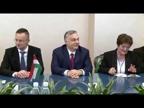 Președintele Republicii Moldova a avut o întrevedere cu Prim-ministrul Ungariei